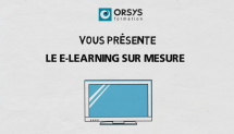 video Orsys - Formation Image_E-learningsurmesure